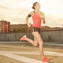 Karra csatolható tok futáshoz, sportoláshoz, 7,5*15 cm, fekete