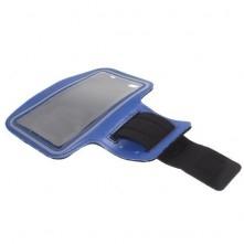 Karra csatolható tok futáshoz, sportoláshoz, 7,5*15 cm, kék