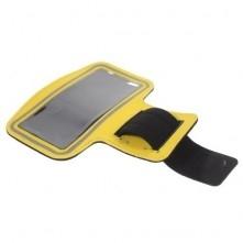 Karra csatolható tok futáshoz, sportoláshoz, 7,5*15 cm, sárga