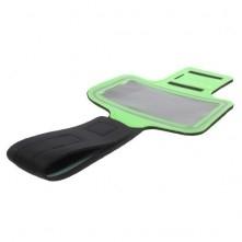 Karra csatolható tok futáshoz, sportoláshoz, 7,5*14 cm, zöld