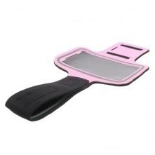 Karra csatolható tok futáshoz, sportoláshoz, 7,5*14 cm, rózsaszín