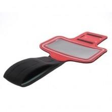 Karra csatolható tok futáshoz, sportoláshoz, 7,5*14 cm, piros