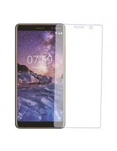Nokia 7 plus kijelzővédő edzett üveg (üvegfólia)