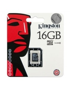 Kingston 16GB Class 4 microSDHC memóriakártya Single Pack