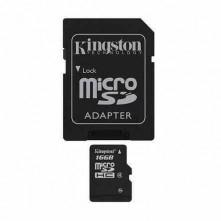 Kingston MicroSD memóriakártya 16GB Class 4