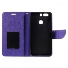 MERCURY GOOSPERY oldalra nyíló tok Huawei P9 PLUS, készülékhez, lila
