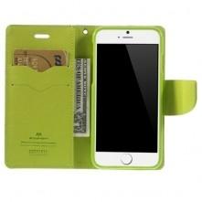 MERCURY GOOSPERY oldalra nyíló tok Apple Iphone 6, készülékhez, kék
