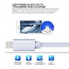 Apple Lightning csatlakozású töltőkábel, adatkábel - 2 m-es - Ezüst