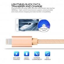 Apple Lightning csatlakozású töltőkábel, adatkábel - 2 m-es - Arany