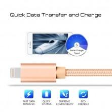 Apple Lightning csatlakozású töltőkábel, adatkábel - 1 m-es - Arany