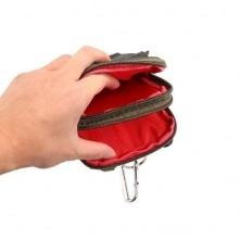Övre fûzhetõ 3 rekeszes tok karpánttal maximum 6.4 inches készülékekhez - ZÖLD