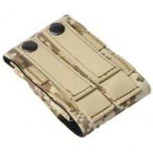 Univerzális sivatagi terep mintás mobiltelefon tok 4 inches készülékekhez