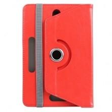 Univerzális 7 colos tablet tok, piros