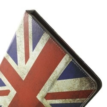 Univerzális 10 colos mintás tablet tok - Brit zászló