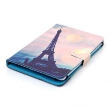 Univerzális 10 colos mintás tablet tok - Eiffel-Torony
