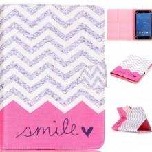 Univerzális 7 colos mintás tablet tok - Smile