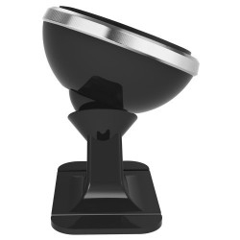 BASEUS 360 fokban forgatható mûszerfalra rögzíthetõ mágneses autós tartó (függõleges) - EZÜST