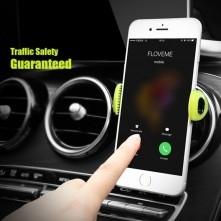 FLOVEME autó szellõzõrácsra rögzíthetõ telefon autós tartó - KÉK