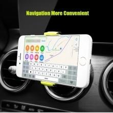 FLOVEME autó szellõzõrácsra rögzíthetõ telefon autós tartó - SZÜRKE