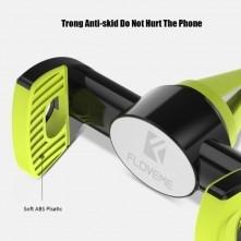 FLOVEME autó szellõzõrácsra rögzíthetõ telefon autós tartó - FEKETE