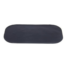 Autó mûszerfalra helyezhetõ csúszásmentes szilikon pad / tartó - 7x13 cm - FEKETE