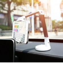 FLOVEME multifunkciós 360 fokban forgatható tapadókorongos asztali / autós tartó kar - ARANY