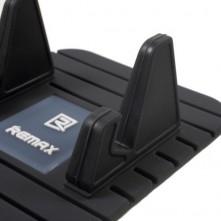 REMAX autó mûszerfalra helyezhetõ csúszásmentes szilikon pad / tartó - FEKETE