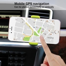 HAWEEL autó szellõzõrácsra rögzíthetõ telefon autós tartó - ZÖLD