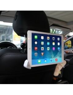 Univerzális 360 fokban forgatható autó fejtámlára szerelhetõ táblagép tartó 22-30 cm átmérõjû készülékekhez