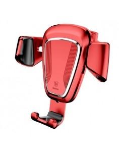 BASEUS Gravity autó szellõzõrácsra helyezhetõ univerzális telefon tartó - PIROS