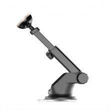 BASEUS univerzális teleszkópos mûszerfalra rögzíthetõ mágneses autós tartó - EZÜST