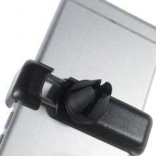 Autó szellõzõrácsra rögzíthetõ telefon autós tartó - FEKETE