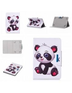 Univerzális 7 colos mintás tablet tok - Panda