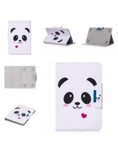 Univerzális 10 colos mintás tablet tok - Panda