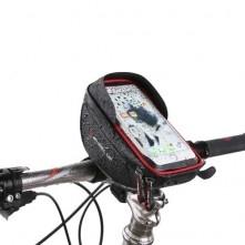 WHEEL UP kerékpár kormányra rögzíthetõ tok 15x9 cm - PIROS-FEKETE