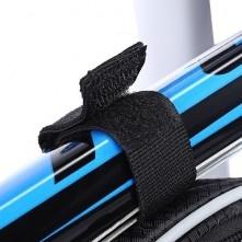 SAHOO 2L kerékpár vázra rögzíthetõ tok 25x14 cm - FEKETE