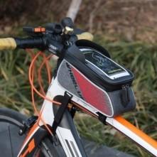 WHEEL UP kerékpár vázra rögzíthetõ tok 22x15 cm - FEKETE
