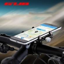G-85 univerzális kormányra rögzíthetõ masszív aluminium telefontartó 67-100 mm széles készülékekhez - FEKETE