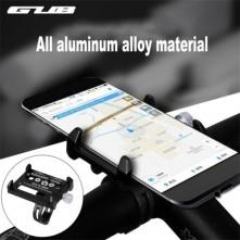 G-86 univerzális kormányra rögzíthetõ masszív aluminium telefontartó 50-100 mm széles készülékekhez - FEKETE