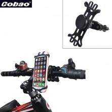 COBAO kormányra rögzíthetõ telefontartó 3-6 inches készülékekhez - FEKETE