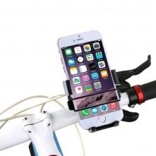 HAWEEL kerékpár kormányra rögzíthetõ telefontartó 49-75 mm széles készülékekhez - FEKETE