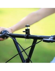 PULUZ kerékpár kormányra rögzíthetõ aluminium telefontartó - FEKETE
