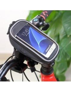 ROSWHEEL kerékpár kormányra rögzíthetõ tok 16.5x8 cm - FEKETE