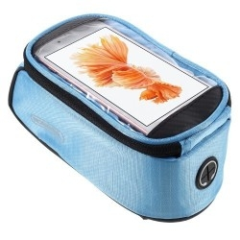 Kerékpárra rögzíthetõ telefontok 8.5x16 cm-es telefonokhoz - KÉK