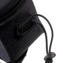 Kerékpárra rögzíthetõ telefontok 8.5x16 cm-es telefonokhoz - FEKETE/KÉK