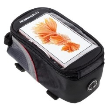 Kerékpárra rögzíthetõ telefontok 8.5x16 cm-es telefonokhoz - PIROS/FEKETE