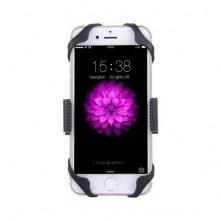 360 fokban forgatható kerékpáros telefon tartó iPhone 7 / 7 Plus / iPhone 6 / 6 Plus / iPhone 5 / 5C & 5s - FEKETE