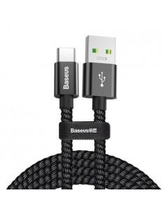 BASEUS 1 méteres törésgátlós Type-C USB gyorstöltõ kábel