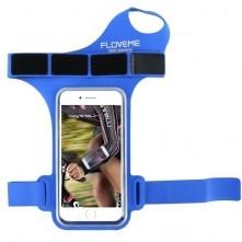 FLOVEME csuklóra csatolható tok futáshoz, sportoláshoz - 4.7 inch - KÉK