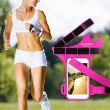 FLOVEME csuklóra csatolható tok futáshoz, sportoláshoz - 4.7 inch - PINK